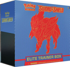 Pokemon Sword & Shield Elite Trainer Box - Shield (Blue)