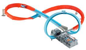 Hot Wheels Figure 8 Raceway With Loop Motorized for Speed