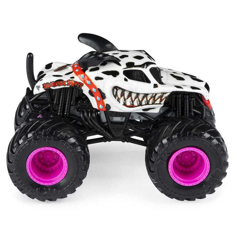 Monster Jam, Official Monster Mutt Dalmatian Monster Truck, Die-Cast Vehicle, Danger Divas Series, 1:64 Scale