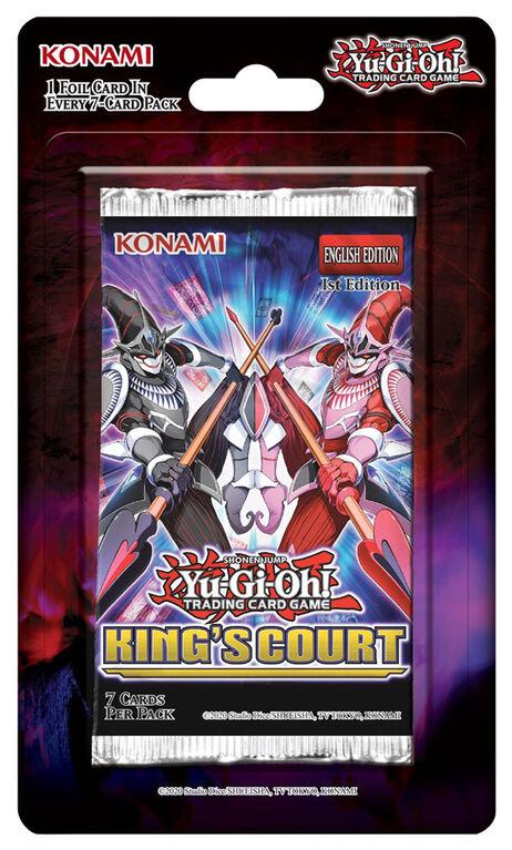 Emballage-coque La Cour du Roi Yu-Gi-Oh! - Édition anglaise