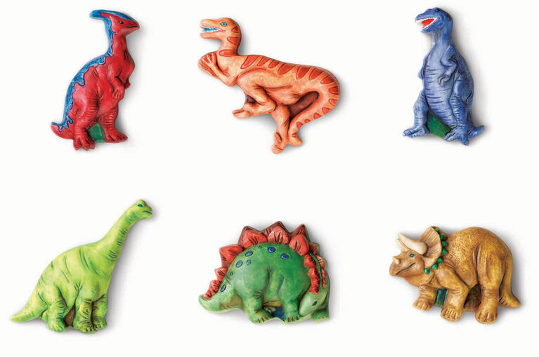 4M Mould & Paint Glow Dinos - English Edition