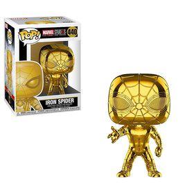 Funko POP! Marvel: Spiderman -Iron Spider Vinyl Figure (Chrome)
