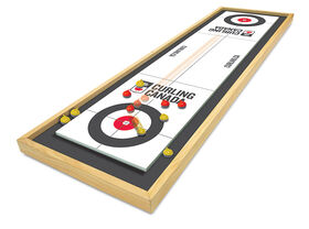 Curling Canada Deluxe Wood Tabletop Curling