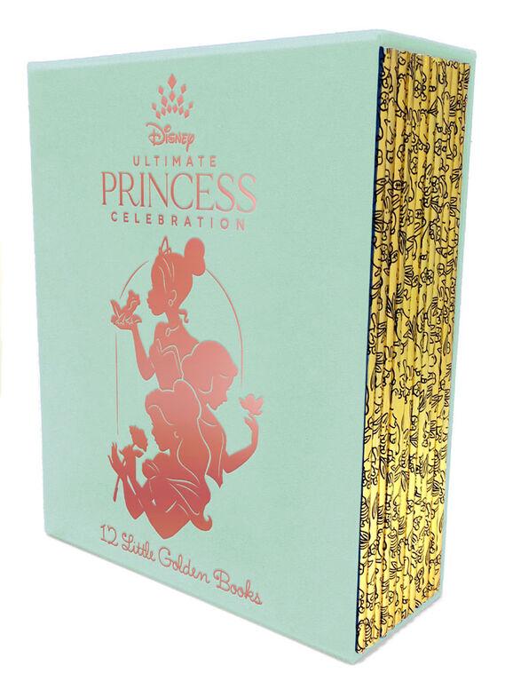 Ultimate Princess Boxed Set of 12 Little Golden Books (Disney Princess) - English Edition