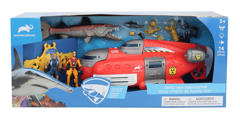 Animal Planet - Deep Sea Submarine Set - R Exclusive