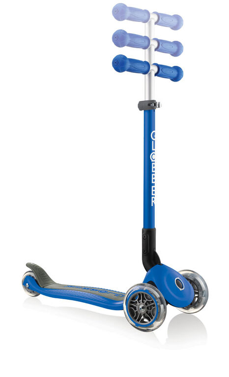 Primo Foldable Scooter - Navy Blue