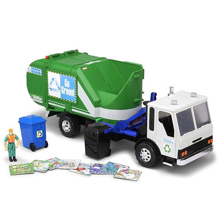 Tonka Titan Go Green Garbage Truck