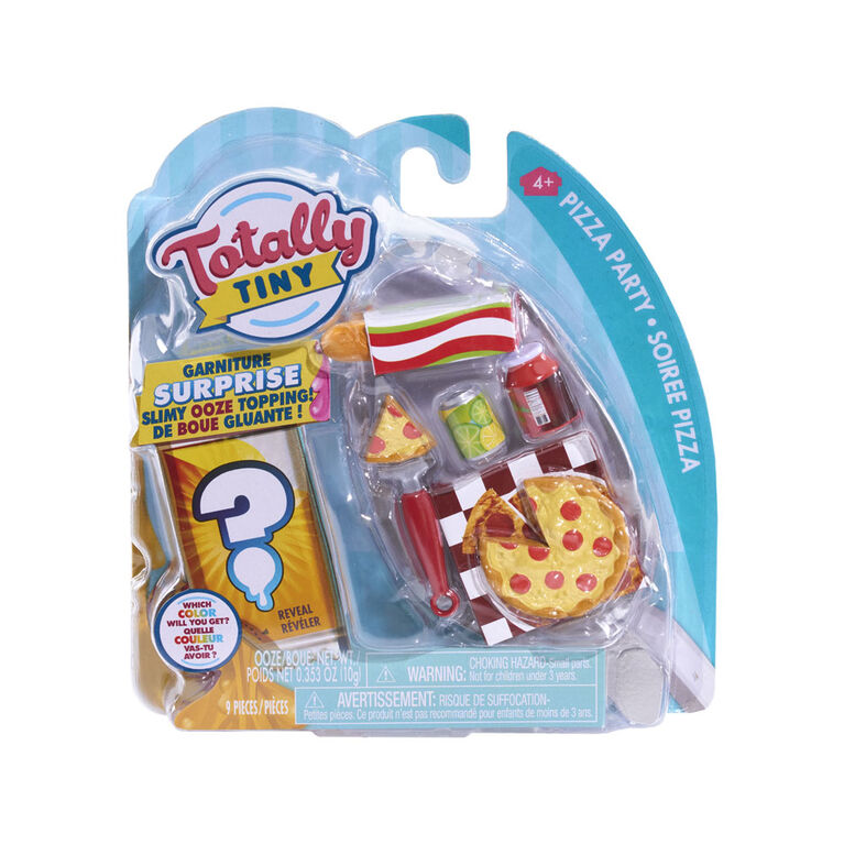 Totally Tiny Fun with Food Sets - Pizza Party