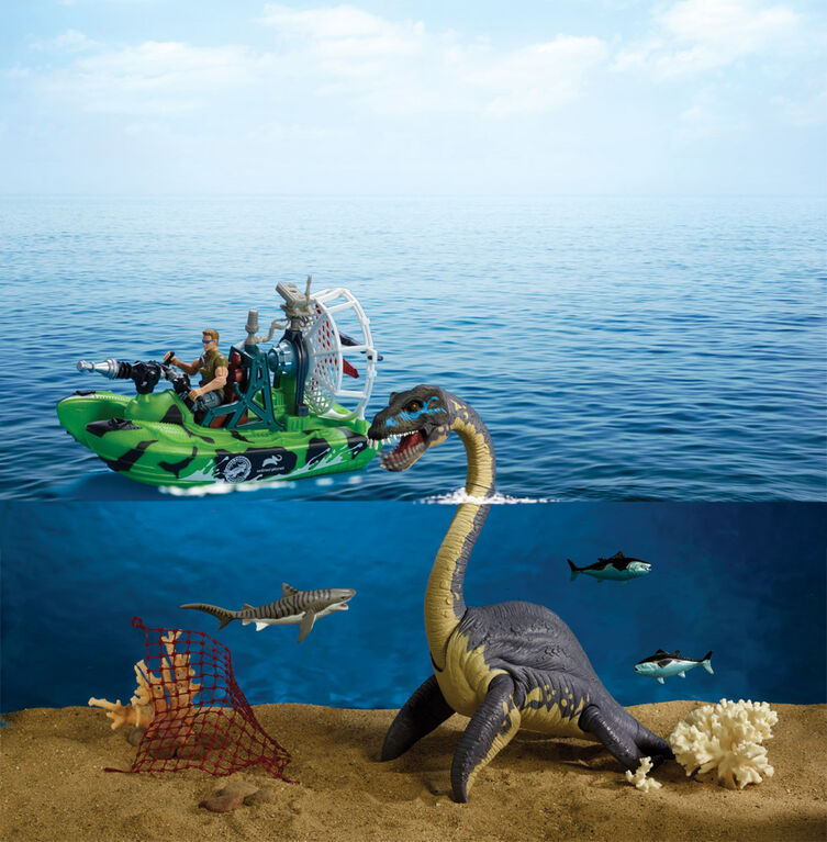 Animal Planet - Deep Sea Elasmosaurus Playset - R Exclusive