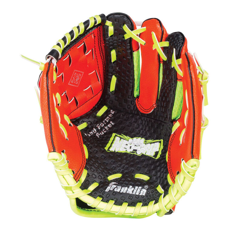 Gant et balle de 23 cm (9po) rouges Neo Grip de Franklin Sports