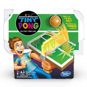 Tiny Pong Solo Table Tennis Kids Electronic Handheld Game - French Edition