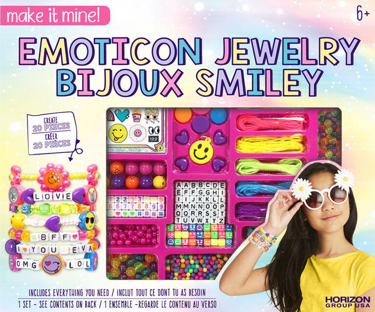 Make It Mine Emoticon Jewelry