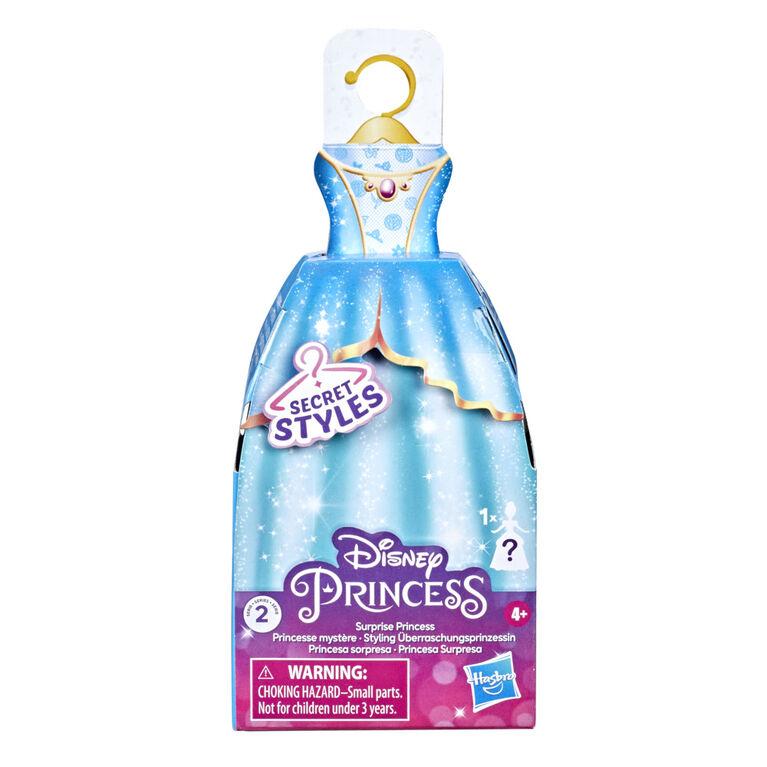 Disney Princess Secret Styles Surprise Princess Series 1, Mini Fashion Doll with Dress, Blind Box