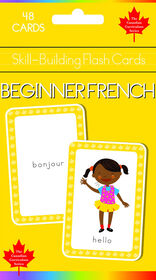 Beginning French Flash Cards - Édition anglaise