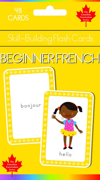 Beginning French Flash Cards - English Edition