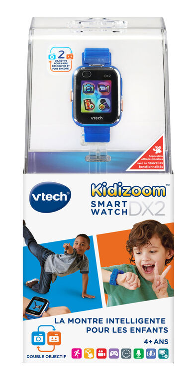 VTech® Kidizoom® Smartwatch DX2 - Blue - French Edition