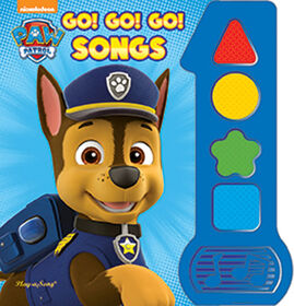 Baby's First Song Book Paw Patrol