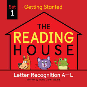 The Reading House Set 1: Letter Recognition A-L - Édition anglaise