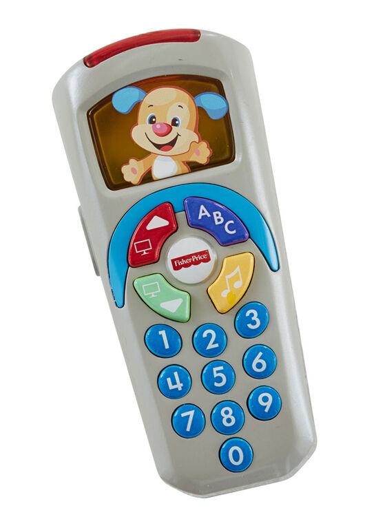 Fisher-Price Laugh & Learn Puppy's Remote - English Edition