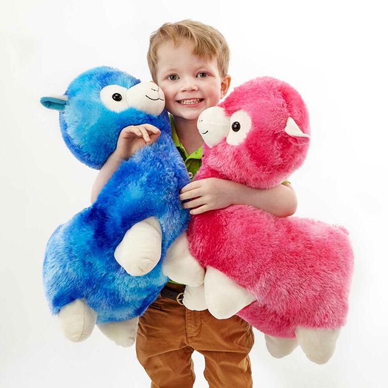 "Snuggle Buddies Adorable Alpaca 17"" Plush Pink - R Exclusive"