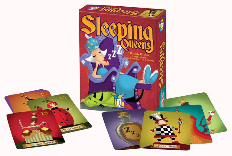 Gamewright - Sleeping Queens Jeu - Édition anglaise
