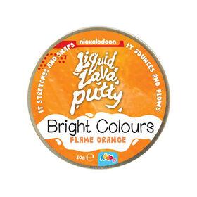 Nickelodeon Liquid Lava Putty Bright Colours Flame Orange