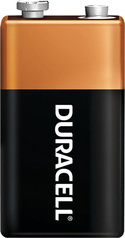 Duracell CopperTop 9V Alkaline Batteries - 2 count
