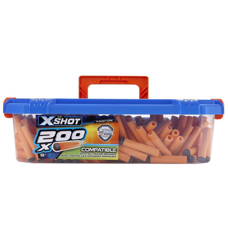 X-Shot Excel Universally Compatible Foam Darts Refill Box (200 Darts)