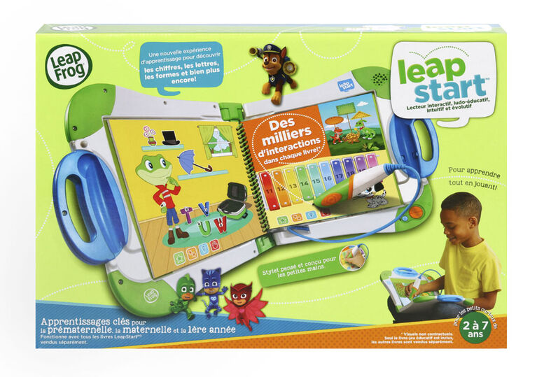 Leapfrog Leapstart Learning System Green French Edition