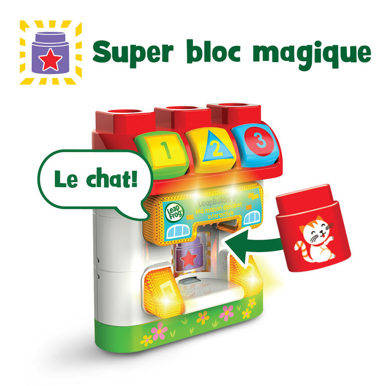 LeapFrog LeapBuilders ABC Smart House - French Edition