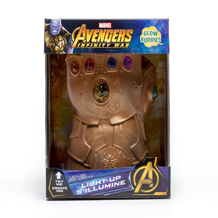 Glow Buddies - Marvel Guantlet  ( Thanos)