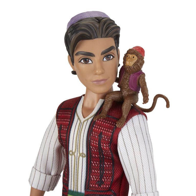 Disney Aladdin Fashion Doll with Abu