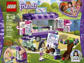 LEGO Friends Le stand d'art d'Emma 41332