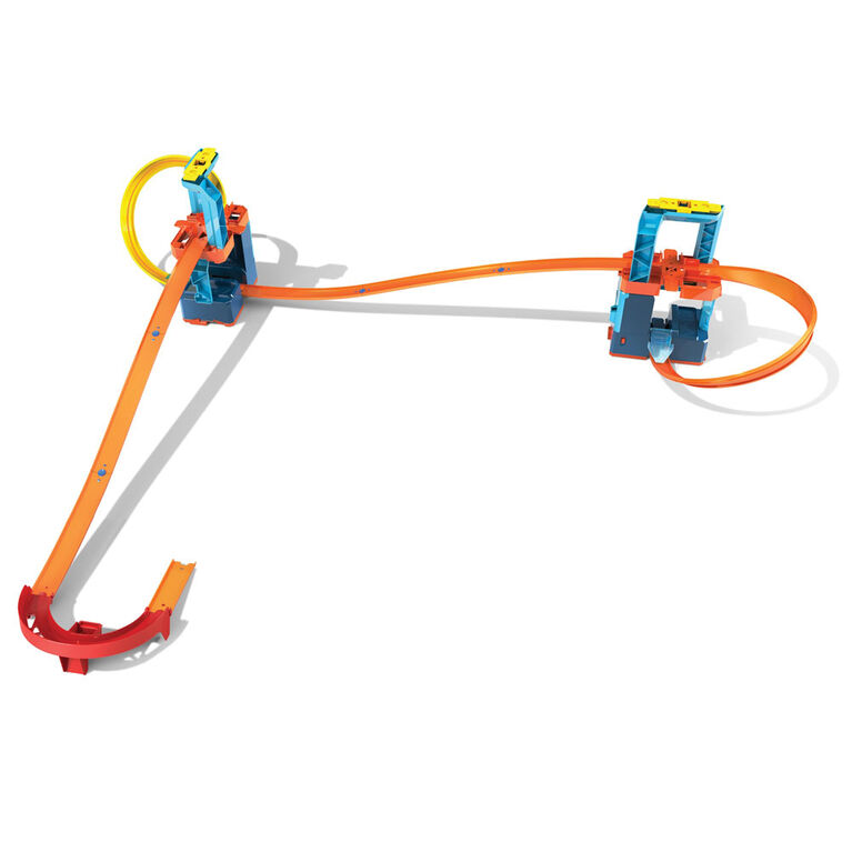 Hot Whhels - Track Builder - Coffret Super Propulsion