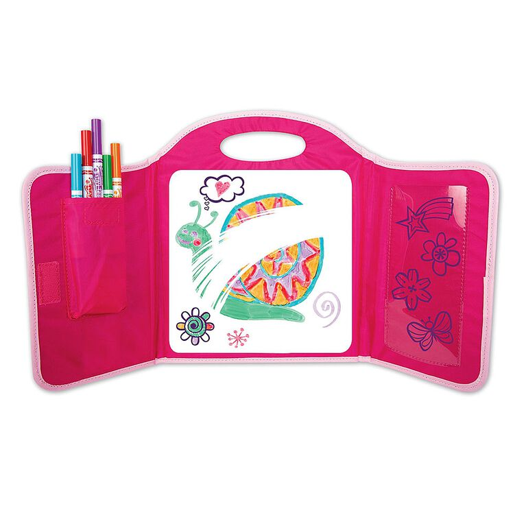 Crayola - Washable Dry Erase Travel Pack