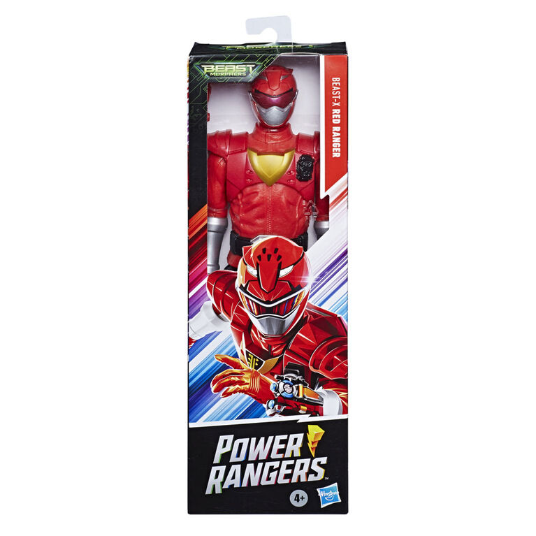 Power Rangers Beast Morphers 12-Inch Beast-X Red Ranger Action Figure