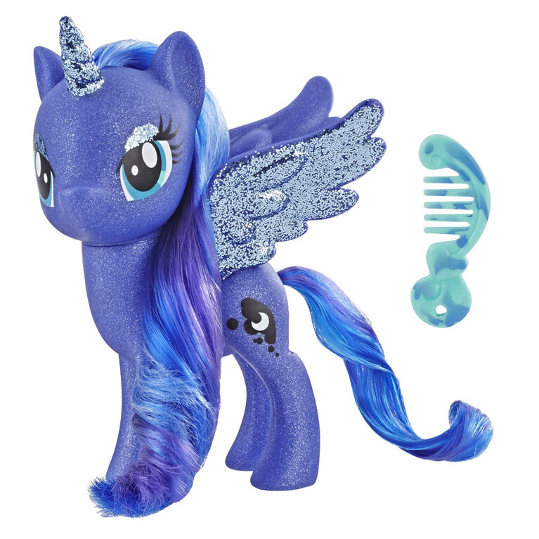 My Little Pony Toy Princess Luna - Sparkling 6-inch Figure for Kids - R Exclusive