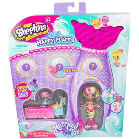 Shopkins Happy Places Chambre de rêve du récif - Emballage surprise.