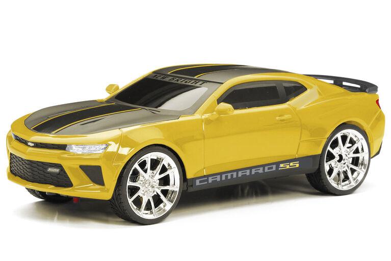 New Bright R/C Sport - Custom Camaro - Yellow