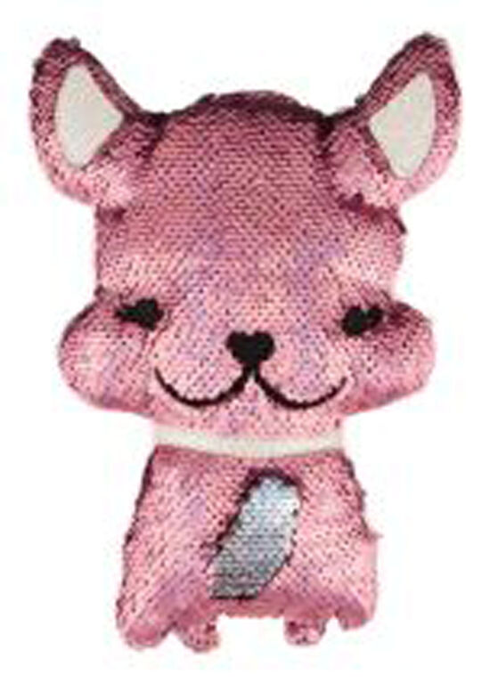Style Lab Magic Sequin Plush - Bulldog