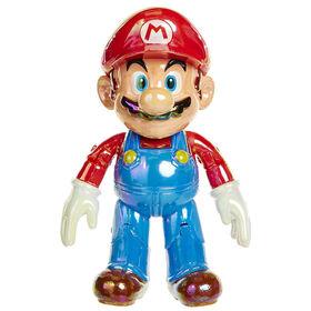 "Nintendo-  World of Nintendo 4"" Figures Star Power Mario with Star"
