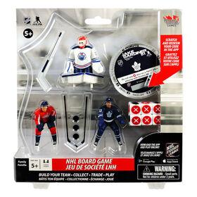 NHL Board Game - Alex Ovechkin, Jake Gardiner and Cam Talbot Starter Pack