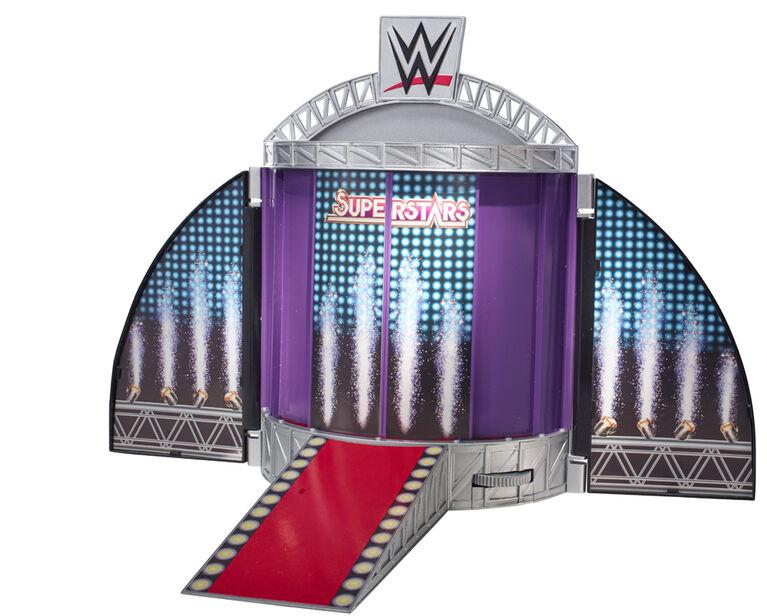 WWE - Coffret de Jeu Scène d'entrée Suprême des Super vedettes.