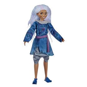 Disney, poupée mannequin Sisu forme humaine, cheveux lavande