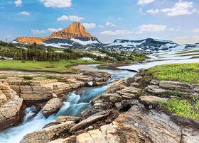 Eurographics HDR Glacier National Park 1000 Piece Puzzle