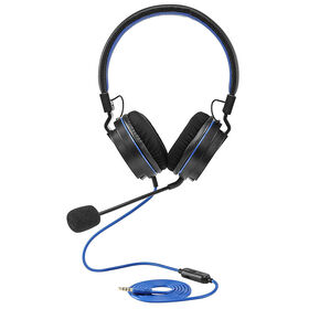 Snakebyte PS4 Gaming Headset On EarBlack/Blue