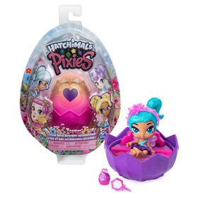 Hatchimals Pixies, 2.5-Inch Collectible Doll and Accessories (Styles May Vary)