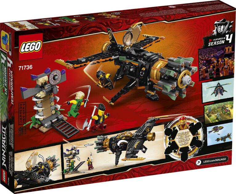 LEGO Ninjago Le jet multi-missiles 71736