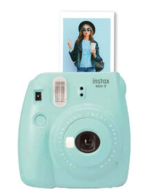 Appareil photo Instax Mini 9 de Fujifilm - Bleu Glace