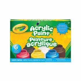 La peinture acrylique Crayola